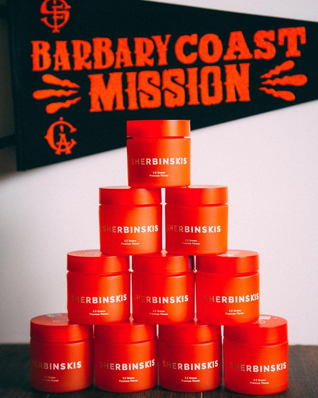 Barbary Coast Sherbinski San Francisco Cannabis 0.25$