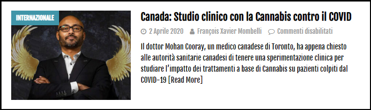 COVID Cannabis 73% Studio